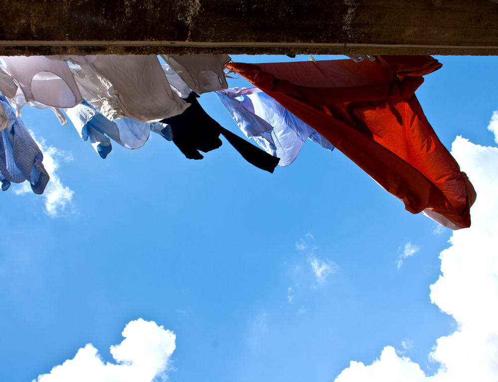 """Laundry"" by Daniela Vladimirova is licensed under CC BY 2.0."
